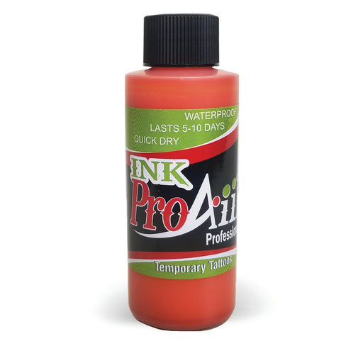ProAiir INK Alcohol-Based Airbrush Body Paint 2oz - Orange - Jest Paint Store