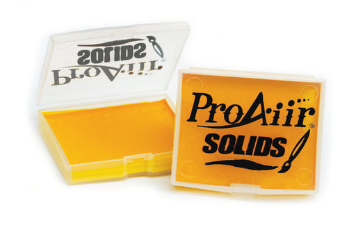 ProAiir Solids | Hybrid Water Resistant Face Paint  -Yolk Yellow - 14gr - Jest Paint Store