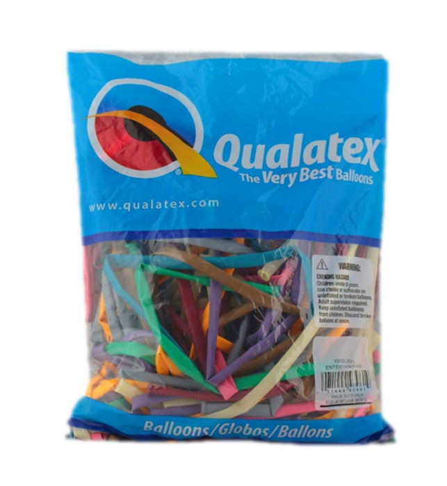 Qualatex Balloons - 260Q Entertainer Assortment - 100ct - Jest Paint Store