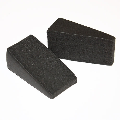 Makeup Wedge Black Sponge (latex free) - 1 unit - Jest Paint Store