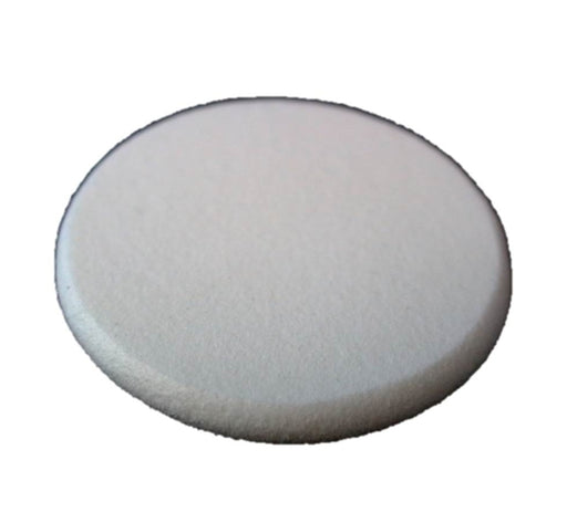 White Disc Makeup Sponge with Buffed Edges - Jest Paint Store