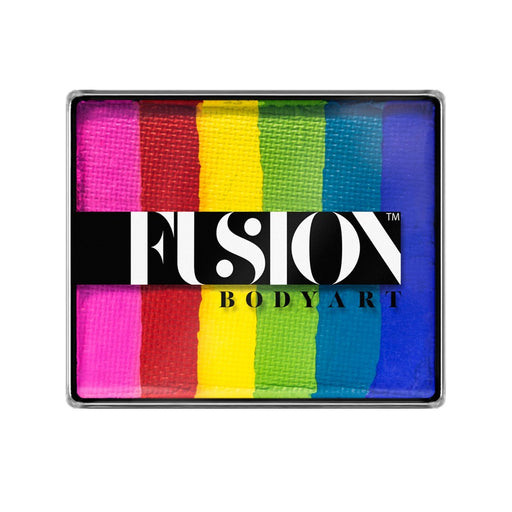 Fusion Body Art Face Paint - Rainbow Cake | Bright Rainbow 50gr - Jest Paint Store