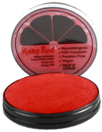 Ruby Red Face Paint - Pearl Red - Jest Paint Store
