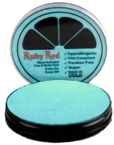 Ruby Red Face Paint - Pearl Turquoise - Jest Paint Store