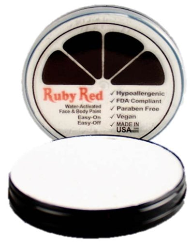 Ruby Red Face Paint - Regular White - Jest Paint Store