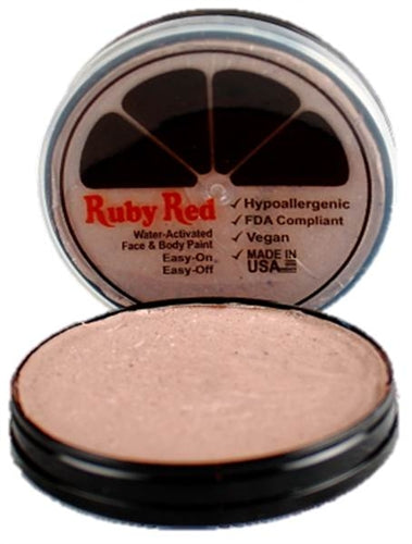Ruby Red Face Paint - Regular Beige - Jest Paint Store