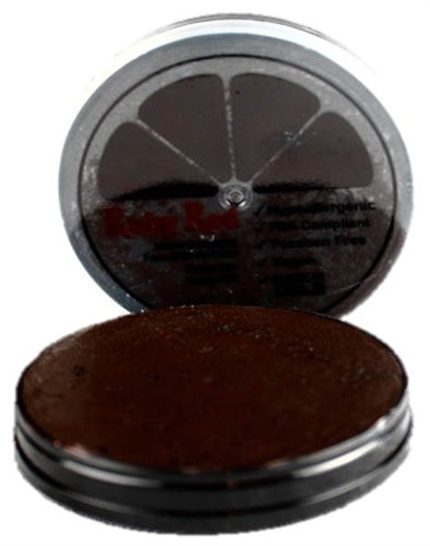 Ruby Red Face Paint - Regular Dark Brown - Jest Paint Store