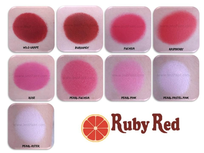 Ruby Red Face Paint - Regular Fuchsia - Jest Paint Store - Swatch