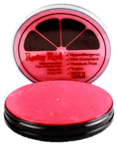 Ruby Red Face Paint - Regular Raspberry - DISCONTINUED - Jest Paint Store