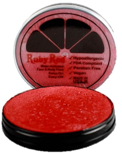 Ruby Red Face Paint - Regular Red - Jest Paint Store