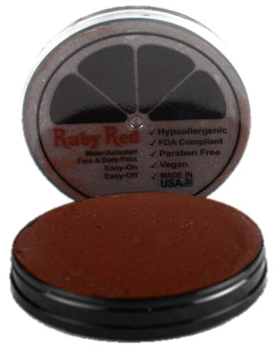 Ruby Red Face Paint - Regular Chocolate - Jest Paint Store