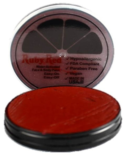 Ruby Red Face Paint - Regular Burgundy - Jest Paint Store