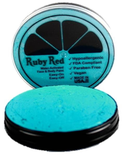 Ruby Red Face Paint - Regular Sea Blue - Jest Paint Store