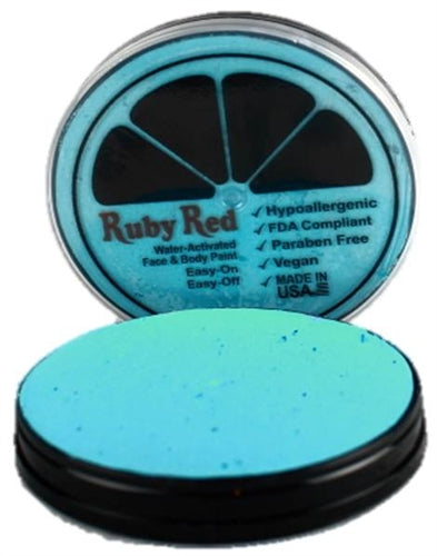 Ruby Red Face Paint - Regular Turquoise - Jest Paint Store