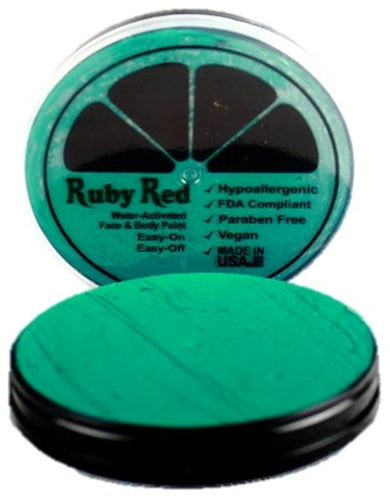 Ruby Red Face Paint - Regular Teal - Jest Paint Store