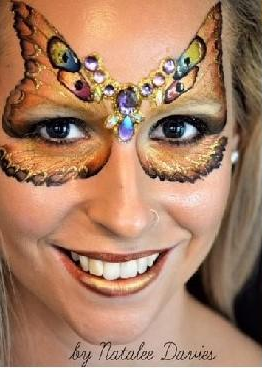Silly Farm Face Paint Arty Brush Cake - Gold Collection - Tigress #32 - Jest Paint Store