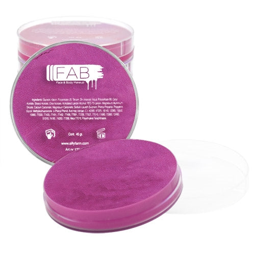 FAB Face Paint - Magenta Shimmer 45gr #139 - Jest Paint Store
