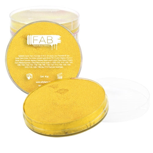 FAB Face Paint - Glitter Gold 45gr #066 - Jest Paint Store