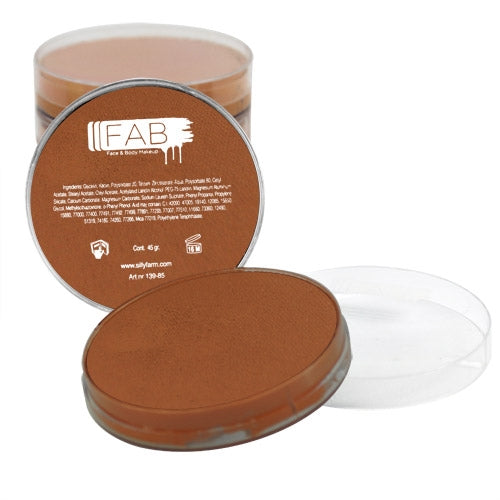 FAB Face Paint - Light Brown 45gr #031 - Jest Paint Store