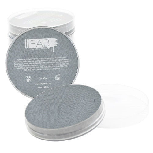 FAB Face Paint - Light Grey 45gr #071 - Jest Paint Store