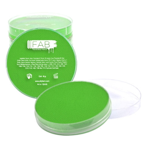 FAB Face Paint - Poison Green 45gr #210 - Jest Paint Store