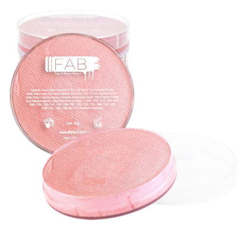 FAB Face Paint - Pearl Baby Pink Shimmer 45gr #062 - Jest Paint Store