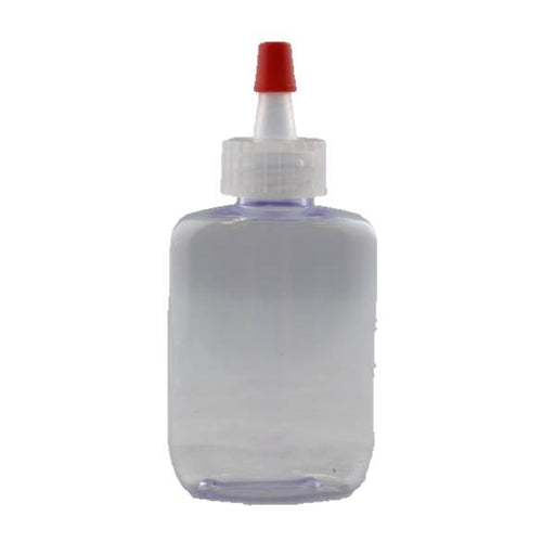 Empty Poof Bottle - 1.25oz (Flat Bottle) - Jest Paint Store