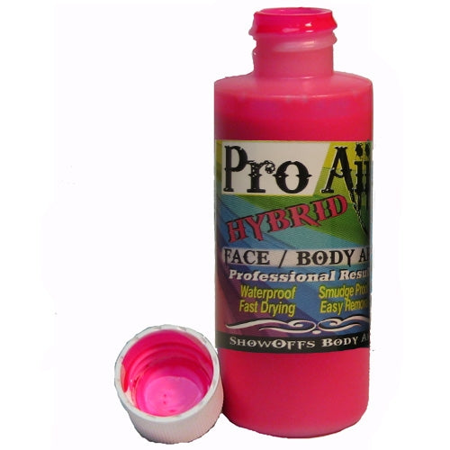 ProAiir Alcohol Based Hybrid Airbrush Paint 2oz - Flo Hot Pink (UV/Neon)