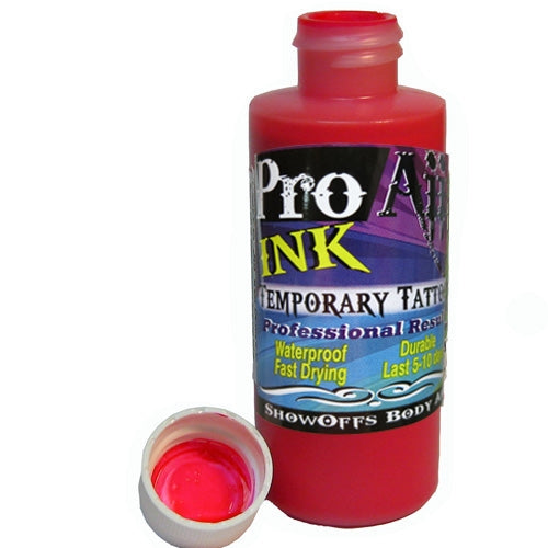 ProAiir INK Alcohol-Based Airbrush Body Paint 2oz - Hot Pink - DISCONTINUE - Jest Paint Store