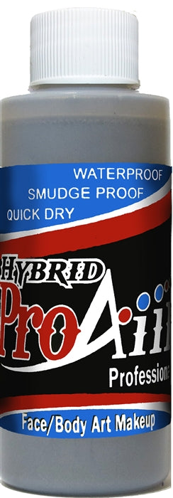 ProAiir Alcohol-Based Hybrid Airbrush Body Paint 2oz - Silver - Jest Paint Store