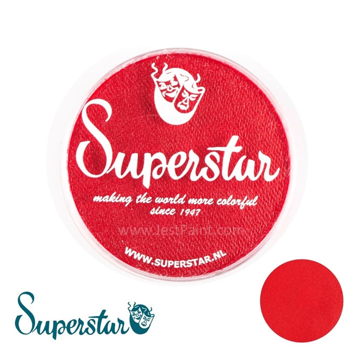 Superstar Face Paint | Carmine Red 128 - 45gr - Jest Paint Store