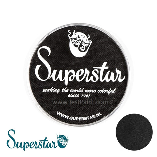 Superstar Face Paint | Line Black 163 - 45gr - Jest Paint Store