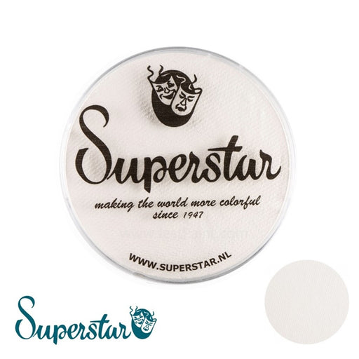 Superstar Face Paint | Line White 161 - 45gr - Jest Paint Store