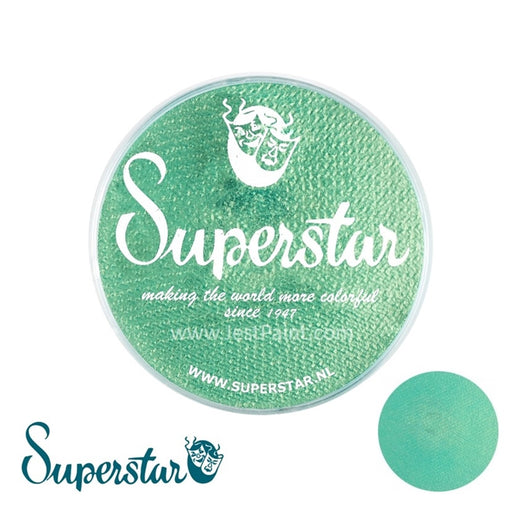 Superstar Face Paint | Golden Green Shimmer 129 - 45gr - Jest Paint Store