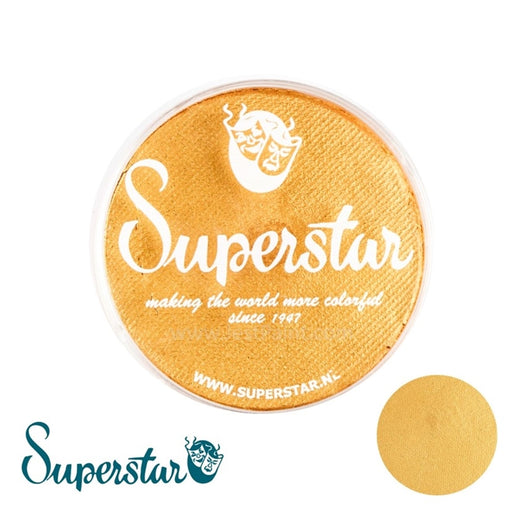 Superstar Face Paint | Gold with Glitter Shimmer 066 -45gr