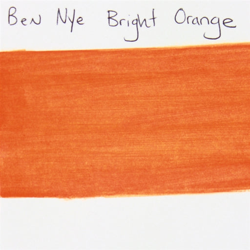 BenNye MagiCake - Brite Orange 1oz SWATCH - Jest Paint Store