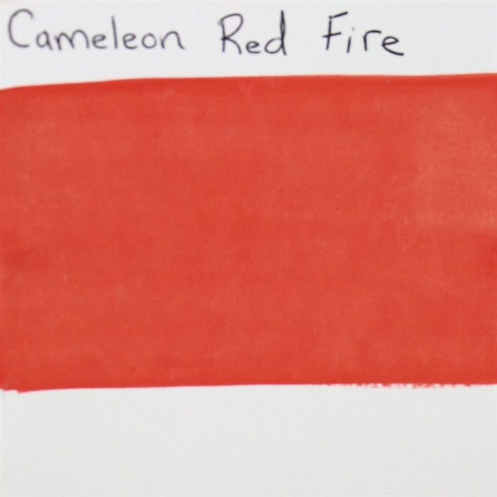 Cameleon - Baseline Fire Red 30gr (BL3001) SWATCH - Jest Paint Store