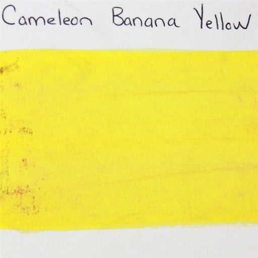 Cameleon - Baseline Yellow Bright (Banana Yellow) 30gr (BL3004) SWATCH - Jest Paint Store