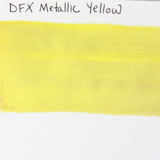 Diamond FX - Metallic Yellow 32gr SWATCH - Jest Paint Store