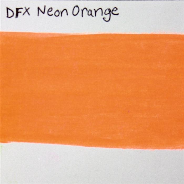 Diamond FX - Neon Orange 32gr  SWATCH - Jest Paint Store
