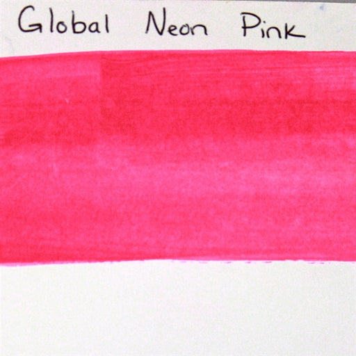 Global Body Art Face Paint - Neon Pink 32gr SWATCH - Jest Paint Store