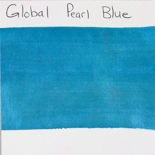 Global Body Art Face Paint - Pearl Blue 32gr SWATCH - Jest Paint Store