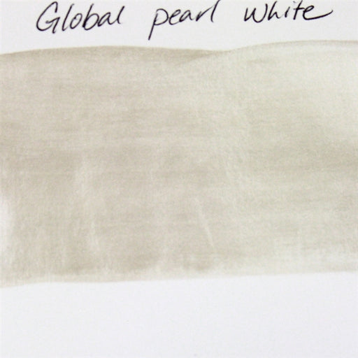Global Body Art Face Paint - Pearl White 32gr SWATCH - Jest Paint Store