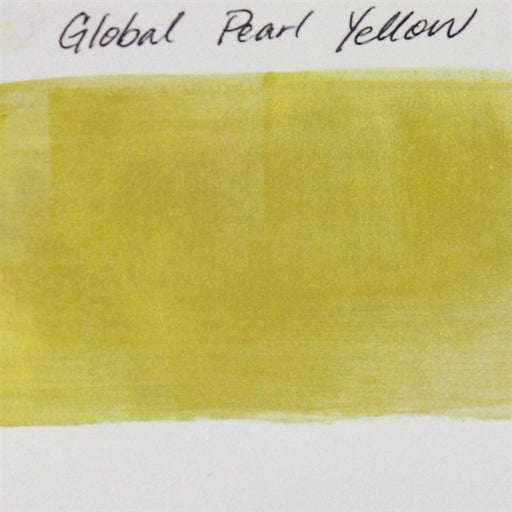 Global Body Art Face Paint - Pearl Yellow 32gr SWATCH - Jest Paint Store