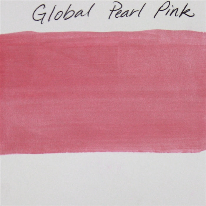 Global Body Art Face Paint - Pearl Pink 32gr SWATCH - Jest Paint Store