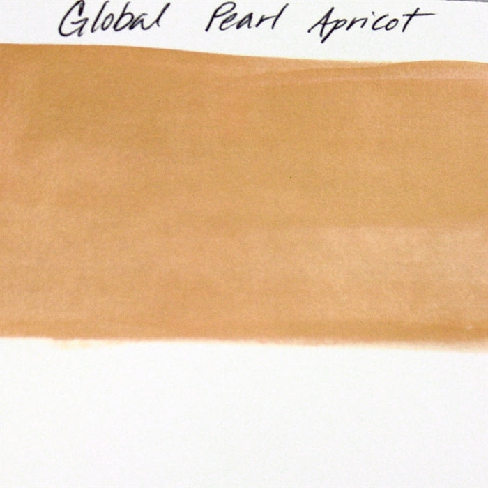 Global Body Art Face Paint - Pearl Apricot 32gr SWATCH - Jest Paint Store