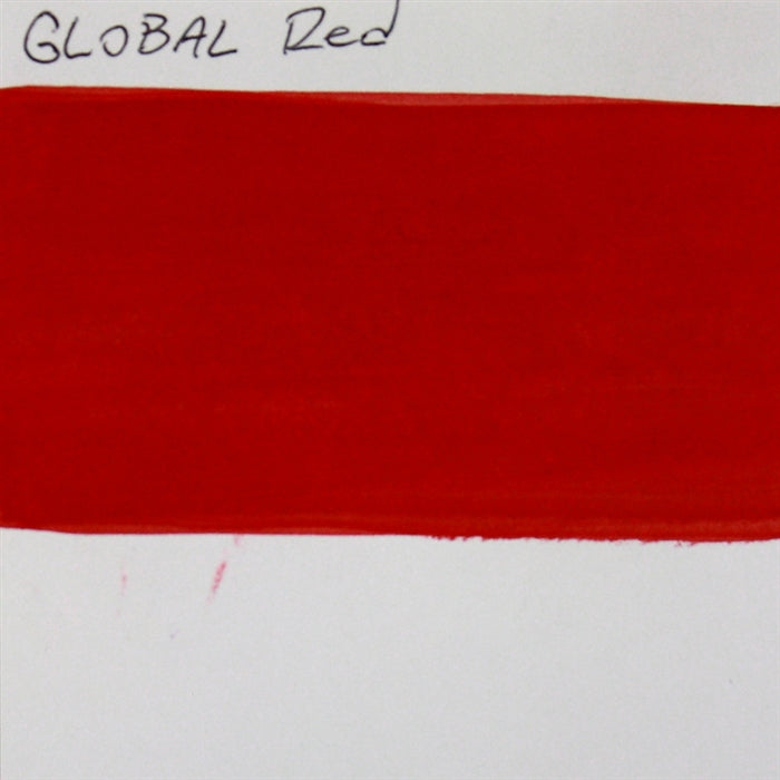 Global Body Art Face Paint - Standard Red 32gr SWATCH - Jest Paint Store