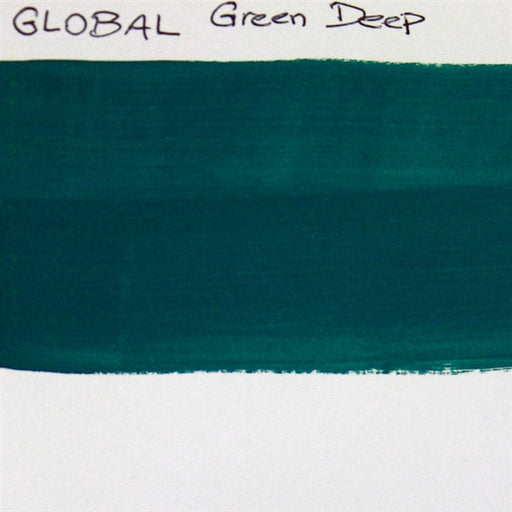 Global Body Art Face Paint - Standard Green Deep 32gr SWATCH - Jest Paint Store