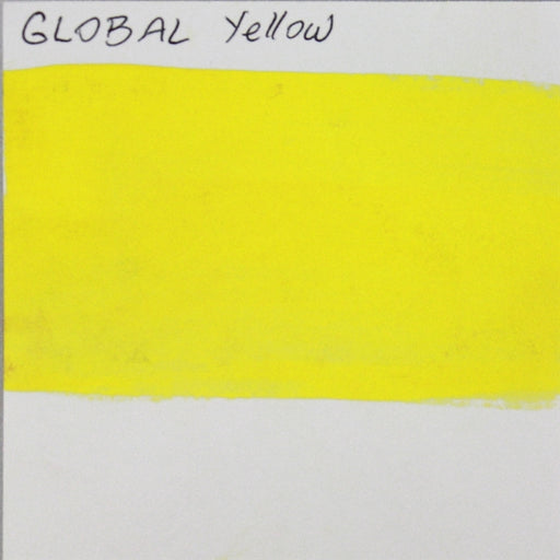 Global Body Art Face Paint - Standard Yellow 32gr SWATCH - Jest Paint Store