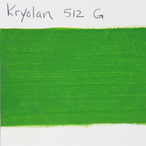 Kryolan Aquacolor - Interferenz 512G (green) - 2oz/60gr SWATCH - Jest Paint Store